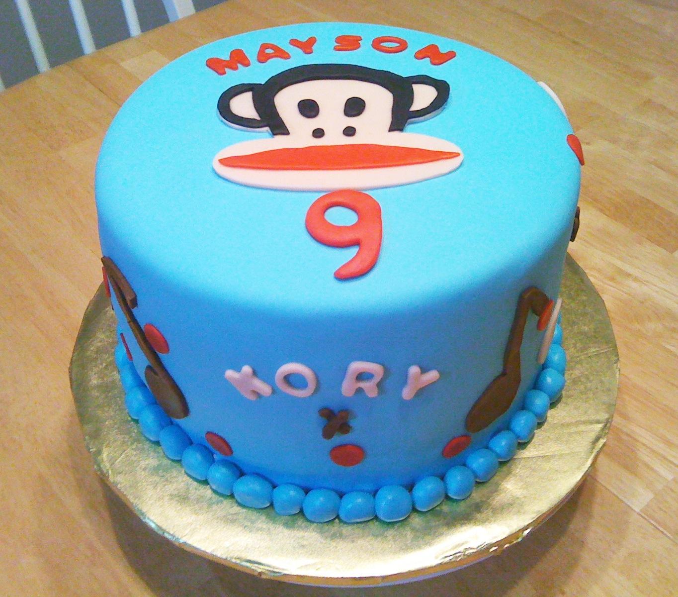 Paul Frank Monkey Cake