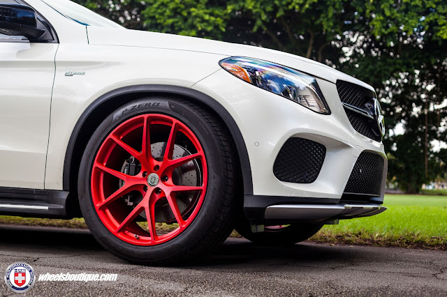 Mercedes-Benz GLE43 AMG with HRE Wheels - #Mercedes #GLE43 #AMG #HRE #Wheels #tuning