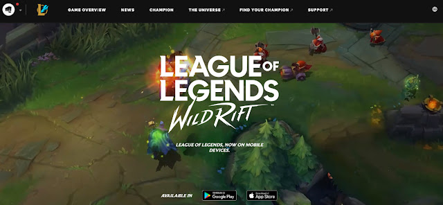 league of legends mobile game release date
