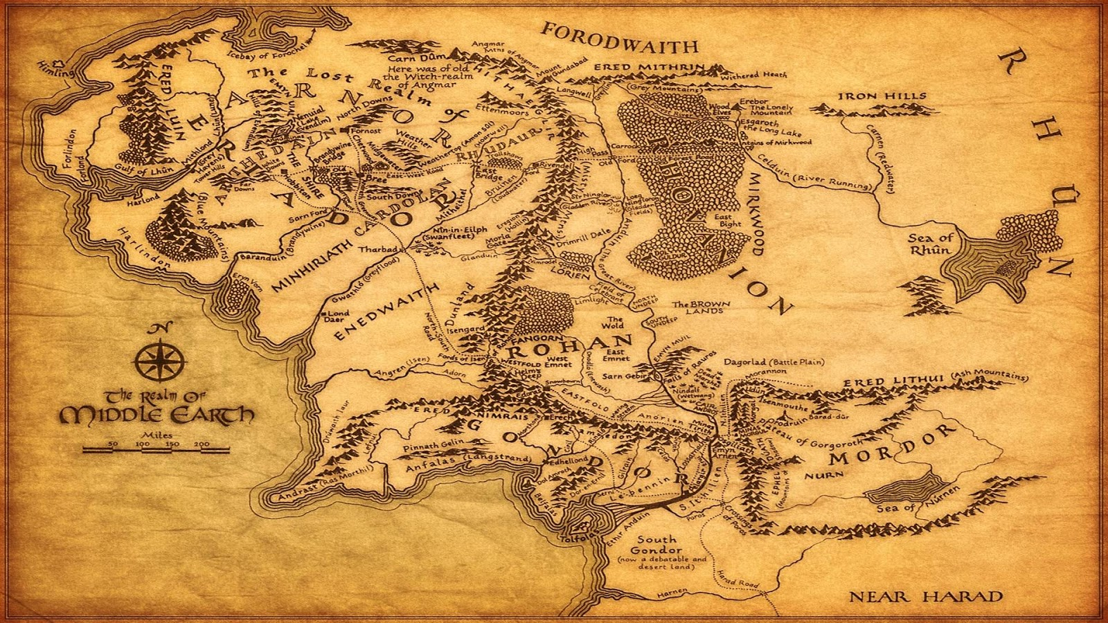 Fantasy Realm Beberapa Kumpulan Peta Dunia Fiksi