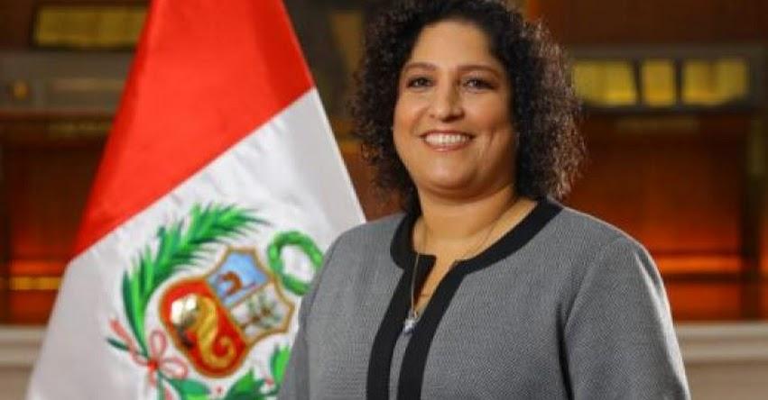 MINAM: Fabiola Martha Muñoz Dodero juramentó como nueva Ministra del Ambiente (2 Abril 2018) www.minam.gob.pe