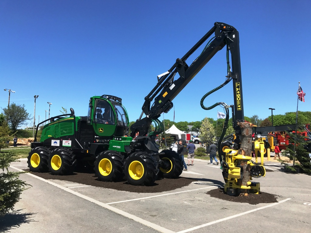 The annual Northeastern Forest Products Equipment Exposition, usually called the Loggers Expo, was held in Bangor, Maine, on May 19-20.