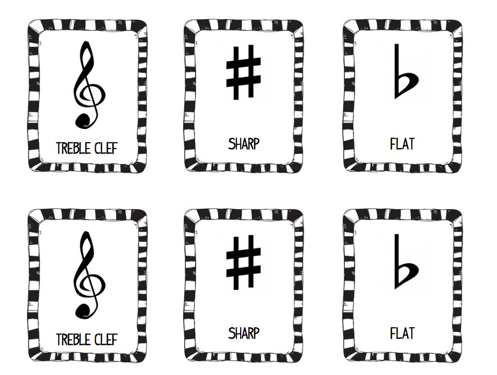 Stay Tuned! : Music Symbol Memory Game- FREEBIE!