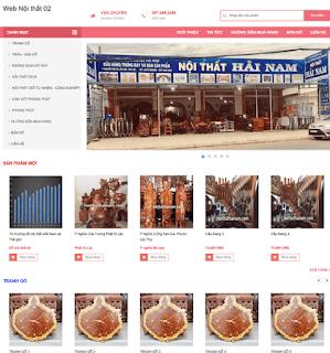 Giao diện Web bán hàng Miễn phí - Theme Blogspot Free - Blogspotdep.com