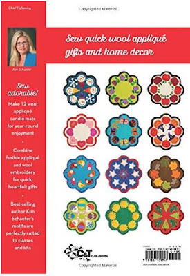 12 monthly candle mats