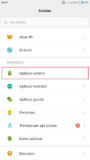 cara menampilkan kontak kartu sim di xiaomi redmi