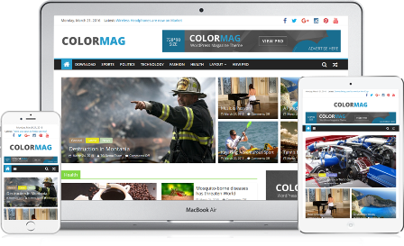 ColorMag - Responsive WP Theme Magazine Free
