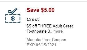 crest cvs app coupon