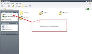 cara membuat folder baru