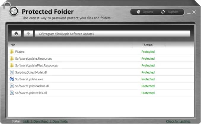 احتفظ ببياناتك وملفاتك الخاصة بكلمة سر أو أخفيها تمامًاIObit Protected Folder