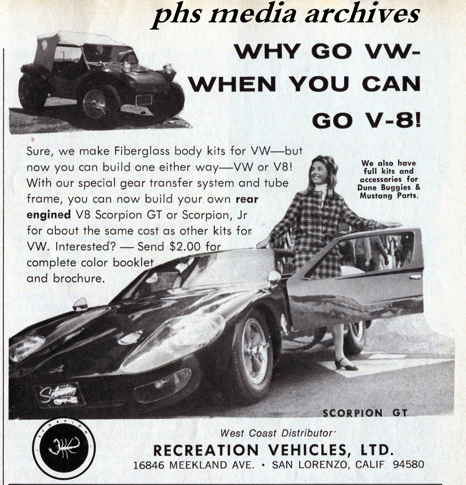 Summer Special on 1960s Dune Buggy Kits | phscollectorcarworld