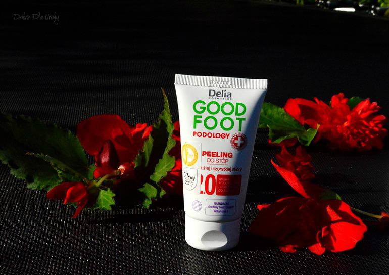 Delia Good Foot Podology Peeling do stóp dla suchej i szorstkiej skóry
