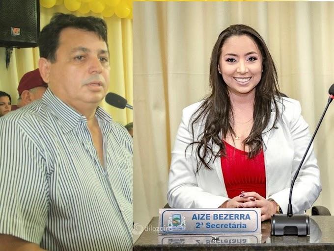 Coligação da candidata Aize denuncia e justiça eleitoral proíbe ex prefeito Maurício estacionar seu carro nas vagas oficiais dos órgãos públicos de João Câmara