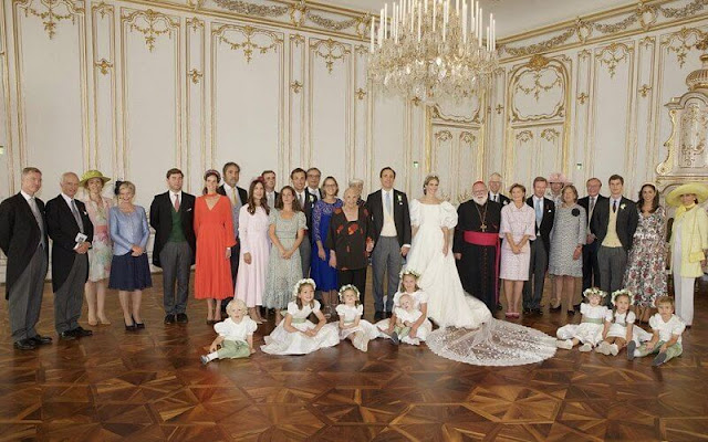 Princess Alexandra, Princess Stephanie, Princess Claire, Beatrice Borromeo, Tatiana Santo Domingo, Princess Ekaterina, Princess Sibilla