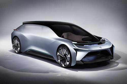 NIO تكشف عن سيارتها الكهربائية ذاتية القيادة NIO EVE