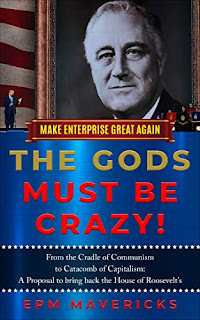 Make Enterprise Great Again: The Gods Must Be Crazy! book promotion by EPM Mavericks
