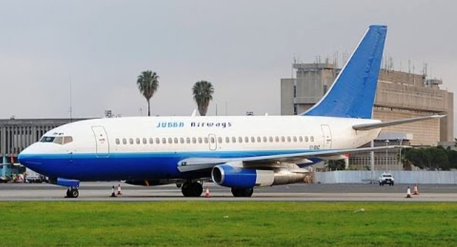 خطوط جوبا الجوية Jubba Airways