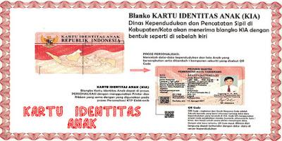 Inilah Cara dan Syarat Membuat Kartu Identitas Anak