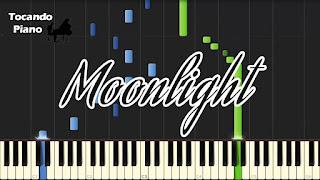 moonlight claro de luna piano