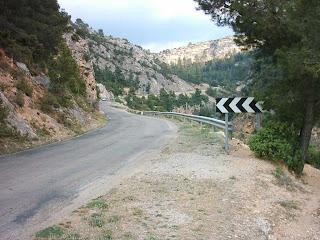 carretera acceso, Beceite, Beseit, 2