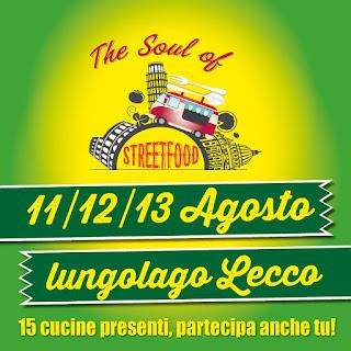 Street Food sul lungolago 11-12-13 agosto Lecco