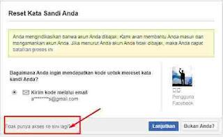 Cara Login FB Lupa Email