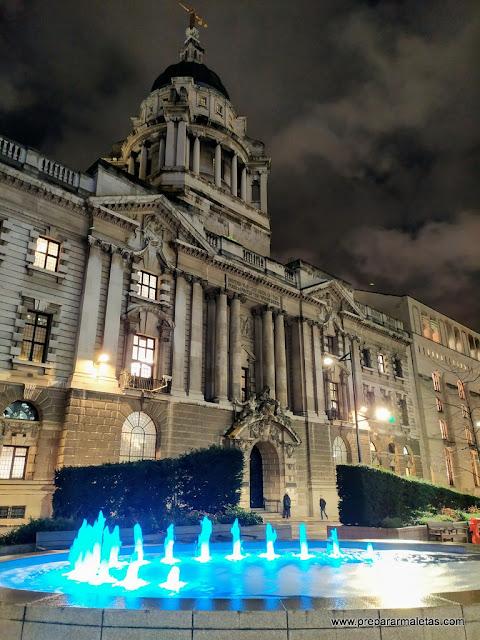 las cortes judiciales en la City de Londres