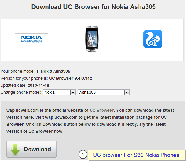 download uc browser nokia n73