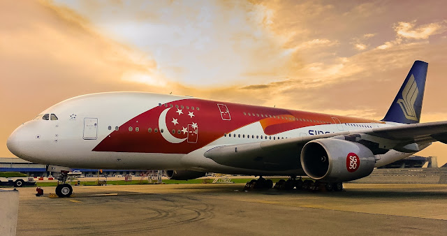 singapore airlines airbus a380 sg50 special livery