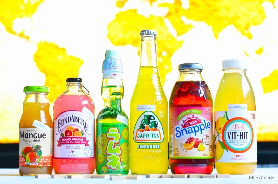 boissons pack voyage taste it drinks