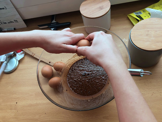 recette muffin chocolat cannelle