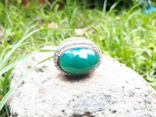 Cincin Batu Bacan Palamea Big Size BC033 Kristal Indah Harga Terjangkau