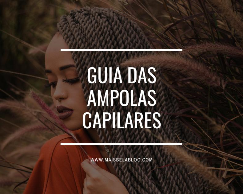 Guia das ampolas capilares
