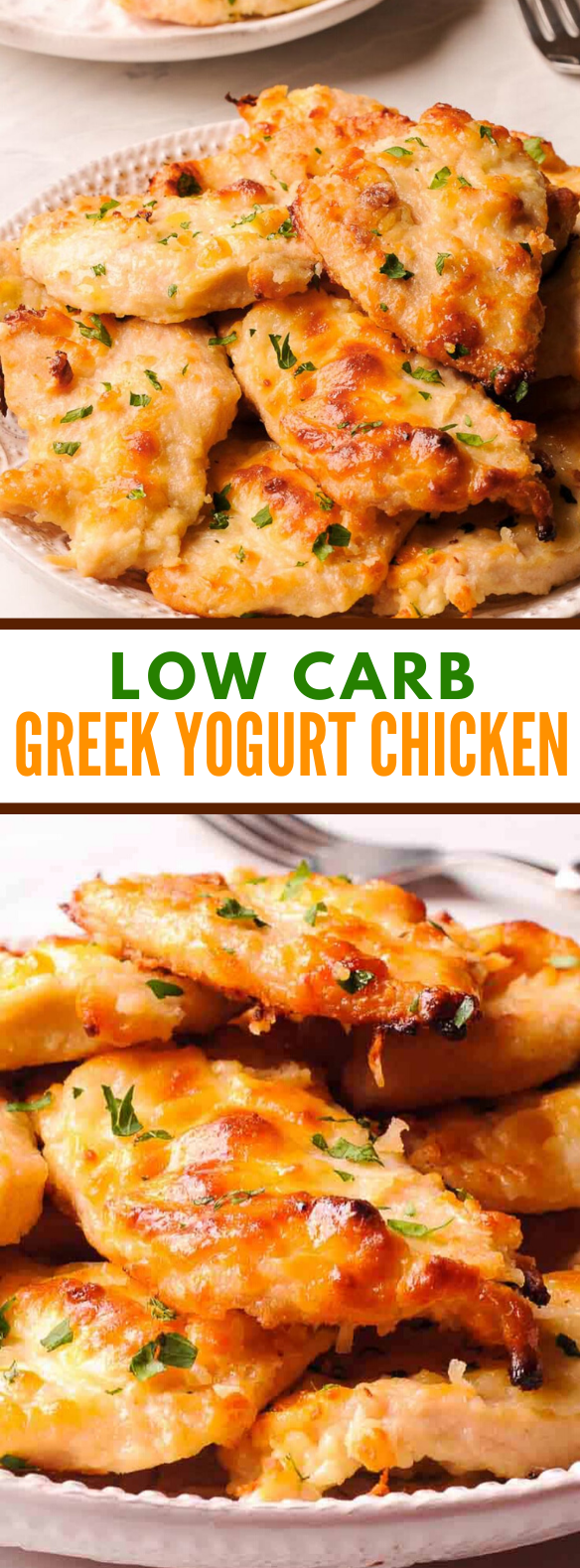 LOW CARB GREEK YOGURT CHICKEN RECIPE #healthydinner #diet