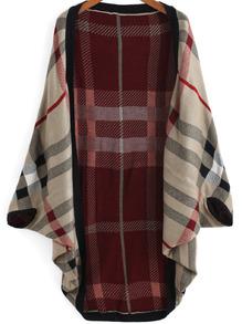 www.shein.com/Red-Khaki-Batwing-Sleeve-Plaid-Cardigan-p-223877-cat-1734.html?aff_id=2525