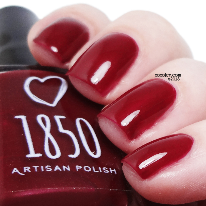 xoxoJen's swatch of 1850 Artisan California Holly