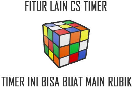 Bukan Timer Biasa! Timer Ini Bisa Dipakai Main Rubik Virtual