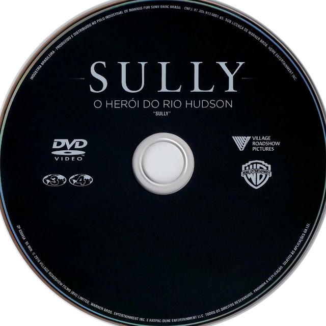 Label DVD Sully O Herói do Rio Hudson (Oficial)