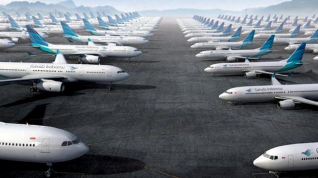 Bukan Main, Harga Sewa Pesawat Garuda Indonesia Termahal di Dunia