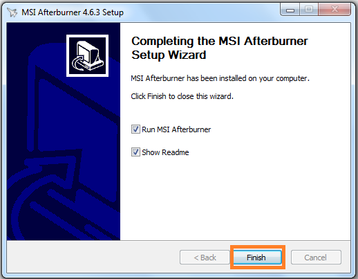 Hướng dẫn cài đặt phần mềm MSI Afterburner 4.6.3 mới nhất trên máy tính g