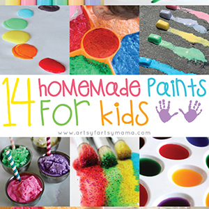 14 Homemade Paints