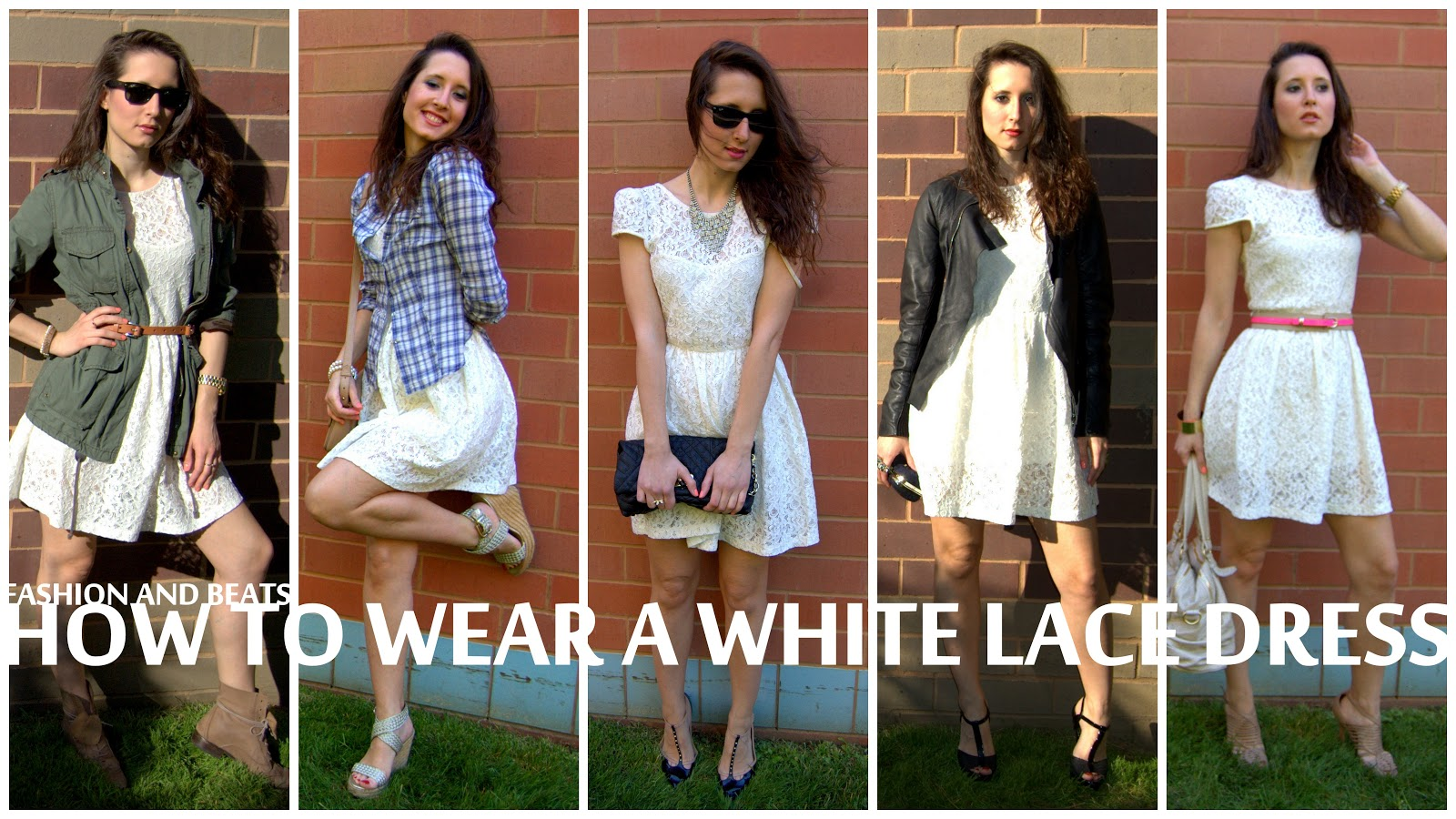 Real How To Wear A White Lace Dress