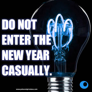 Two attitudes you should have as you enter the new year