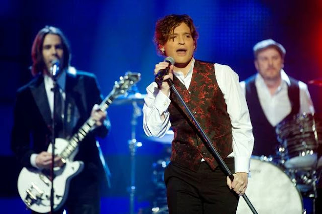 Andreas Johnson en el Melodifestivalen 2012 (Photo: Jessica Gow/Scanpix)