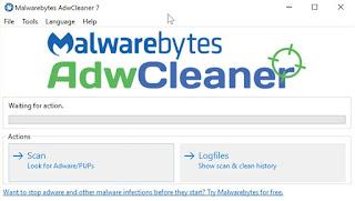 تحميل برنامج Malwarebytes AdwCleaner 7.1 حذف التطبيقات الغير مرغوب فيها