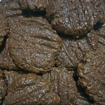 milo cookies, biskut milo, resepi biskut milo, resepi milo cookies, cara membuat milo cookies, bahan membuat milo cookies
