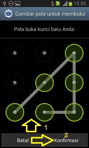 Cara Mudah Membuat Pola Kunci Pada Android Tips Android Review