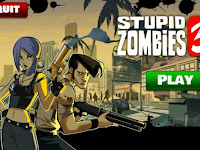Download Game Stupid Zombies 2 MOD APK V2.5 Full Unlocked ( Mod Money ) Terbaru 2016