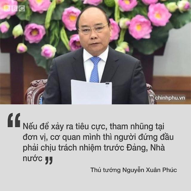 Thủ tướng Nguyễn Xuân Phúc ký công điện tăng cường chống tiêu cực