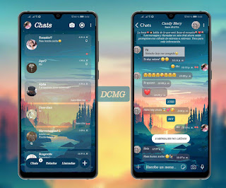 Paisaje Theme For YOWhatsApp & Fouad WhatsApp By DCMG